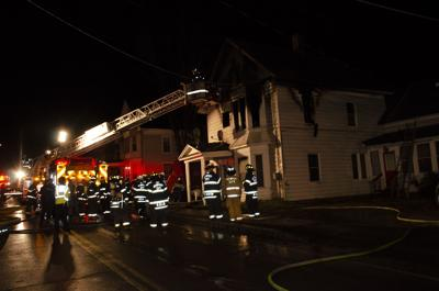 Structure Fire in Newport City Friday