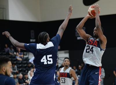 Basketball: USA Basketball-Training Session