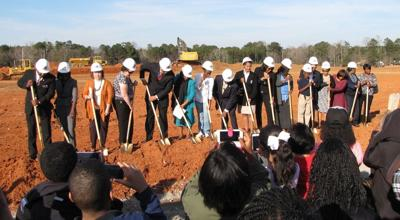 Officials break ground on 11th high school in Clayton County