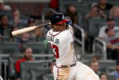 d4edd23042e Acuna s homer heroics carry Braves to sweep of Marlins