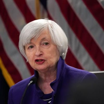 Janet Yellen says the Fed's next rate action may be a cut