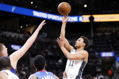 af6da372ab3 NBA  Playoffs-Denver Nuggets at San Antonio Spurs