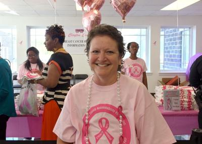 Breast cancer event at Clayton justice building promotes health, awareness