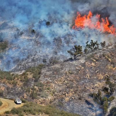 Southern California's Alisal Fire is 50% contained