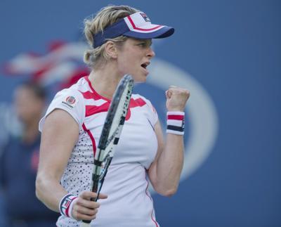 TENNIS: US Open-Clijsters vs Robson