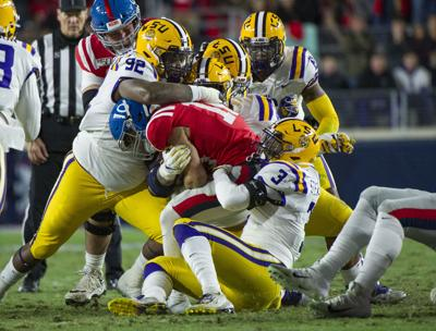 NCAA Football: Louisiana State at Mississippi