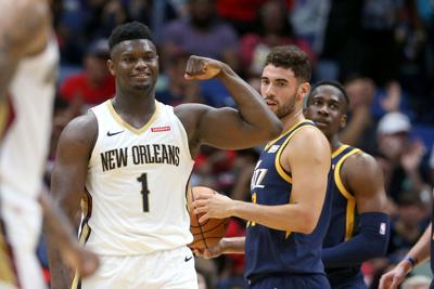 NBA: Preseason-Utah Jazz at New Orleans Pelicans