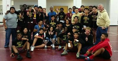 Forest Park wins county wrestling championships behind six first-place finishes