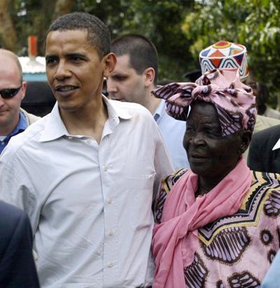 Barack Obama's step-grandmother and family matriarch 'Mama Sarah' dies in Kenya