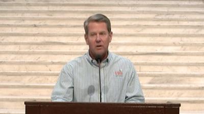 WATCH: Georgia Governor Brian Kemp's coronavirus update press conference