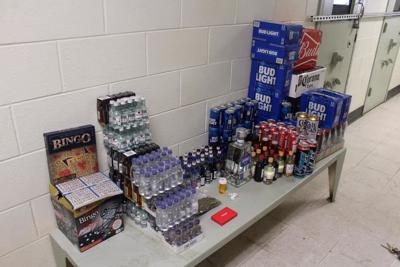 Illegal bar, gambling operation busted