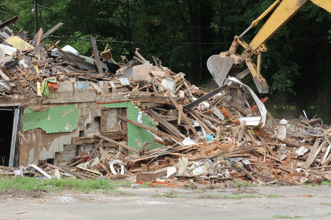 It's a goner: Jonesboro house that burned twice torn down