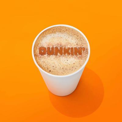 Dunkin $1 medium hot or cold coffee