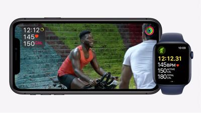 Apple takes on Peloton with Fitness+ service