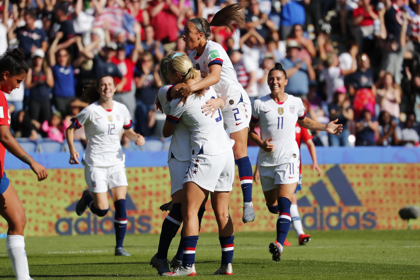 Soccer: Womens World Cup-Chile at USA