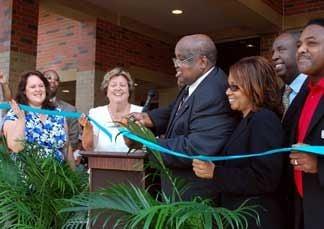 Eddie White officially opens namesake school