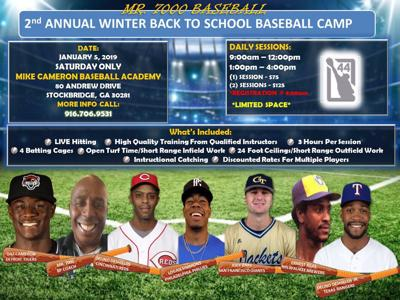 Second Annual Winter Back To School Baseball Camp Starts Saturday