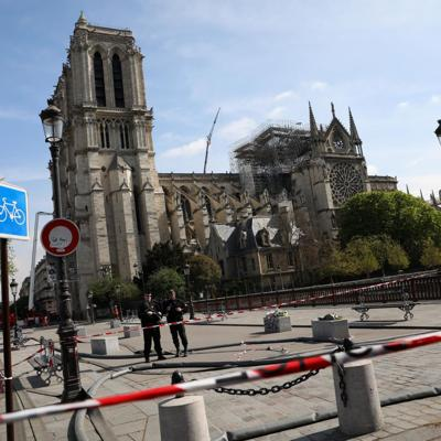 Workers questioned as Notre Dame fire investigation ramps up