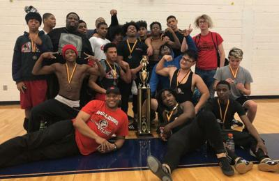 AREA WRESTLING: Mount Zion wins traditional championship; wrestlers from 8 county schools advance to sectionals