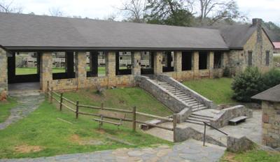 Volunteers, park staff renovate Stone Pavilion
