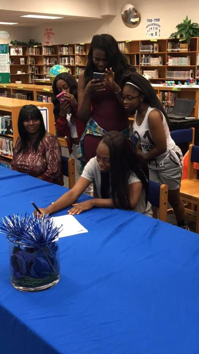 North Clayton High's Dalania Clardy signed to play basketball, track at Clayton State
