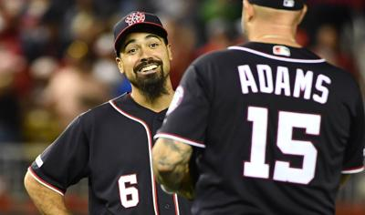 MLB: Cleveland Indians at Washington Nationals