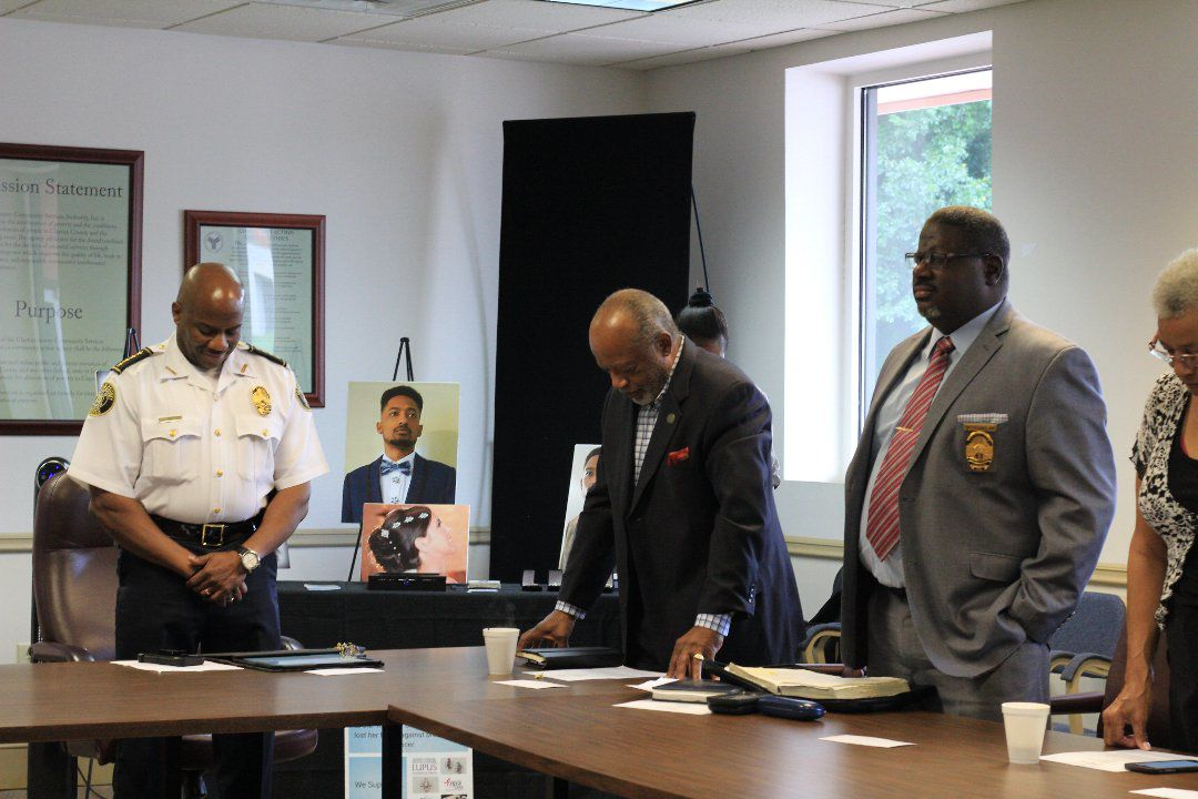 Chief Roberts: Open hand as important as sword in policing