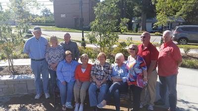 For those who served: Jonesboro High School Class of 1966 dedicates bench to veterans