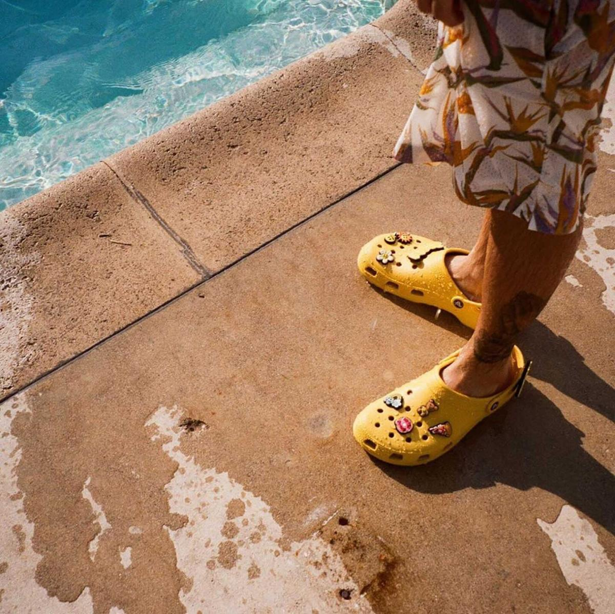 Justin Bieber launches Crocs collection