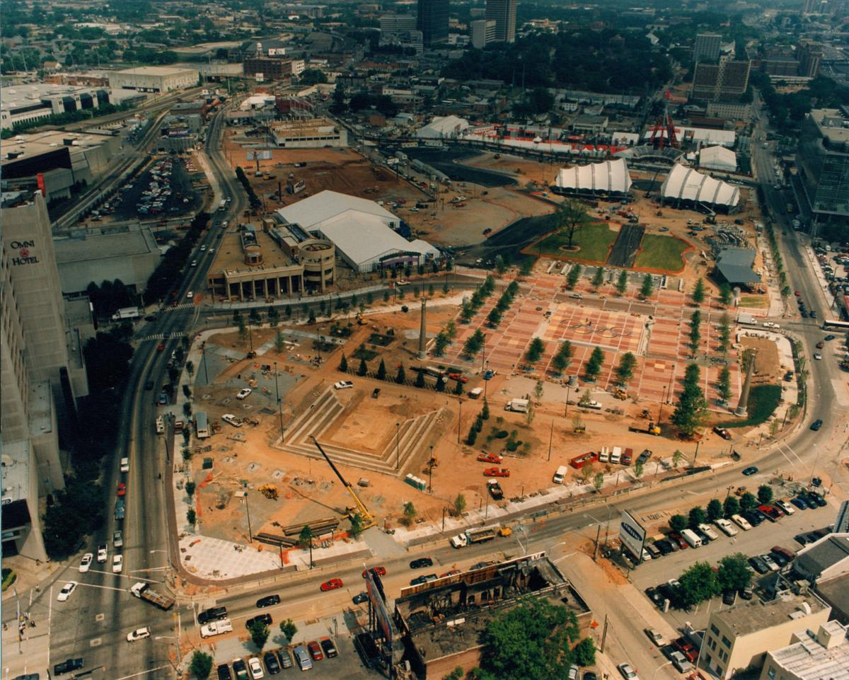 Centennial Olympic Park: Before, during and after the \'96 Olympics ...
