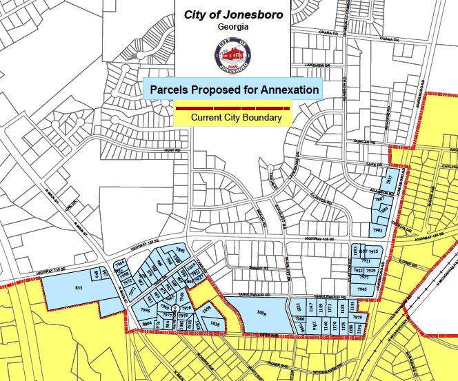 Map Of Jonesboro Georgia.Bill To Expand Jonesboro City Limits Passes Ga House News News