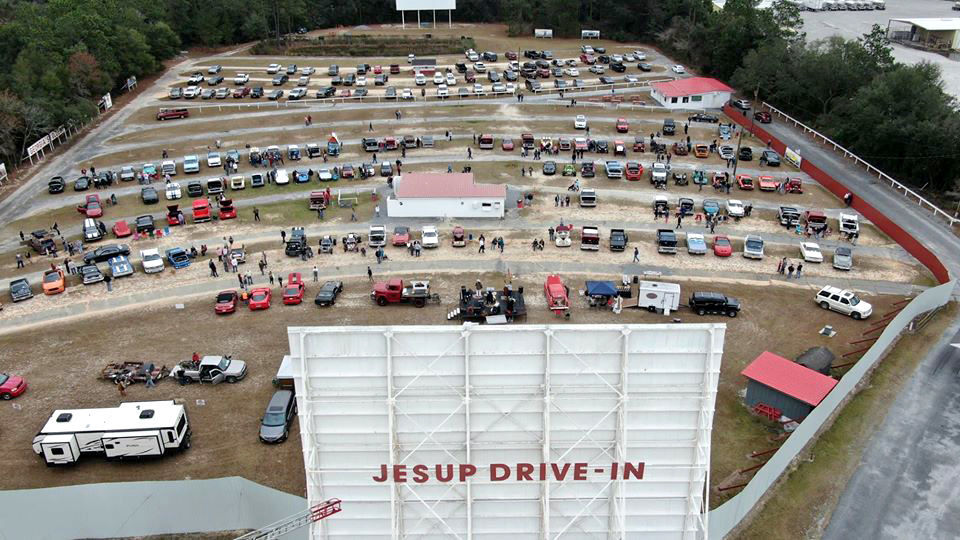 Jesup Drive In Theater Multimedia News Daily Com
