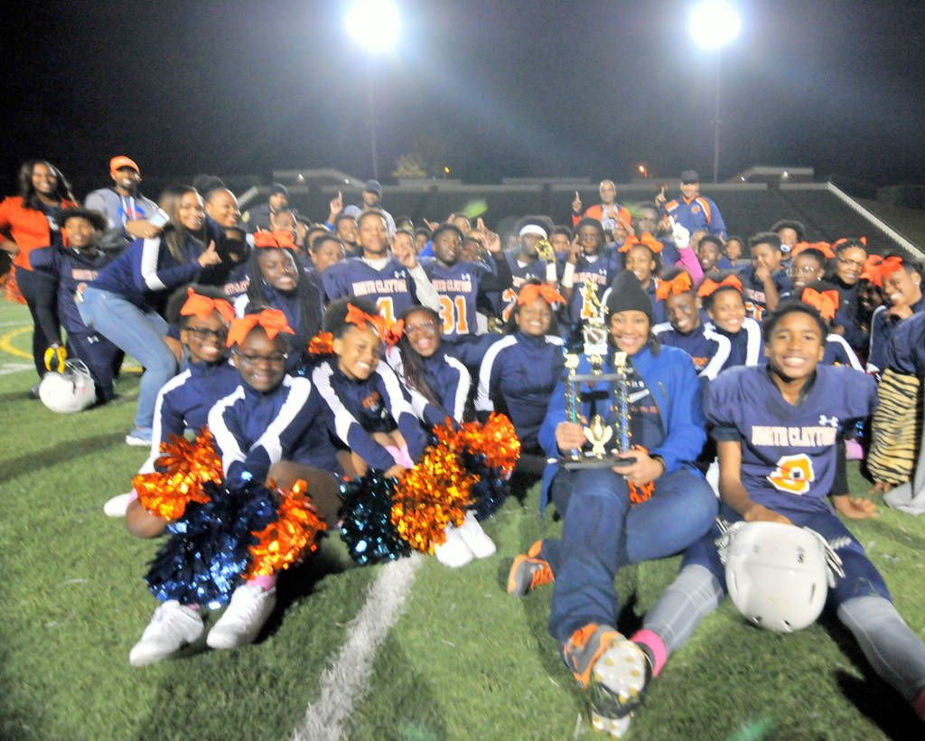 FOOTBALL: North Clayton Middle caps off perfect season with county title