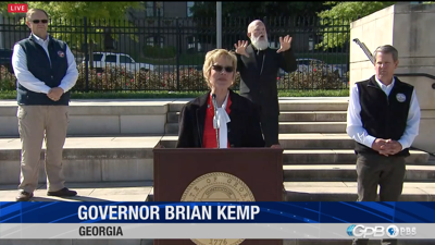 VIDEO: Watch Georgia Governor Brian Kemp's press conference providing the latest coronavirus updates