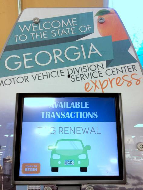 County S First Ever Tag Renewal Kiosk Installed At Lovejoy Kroger