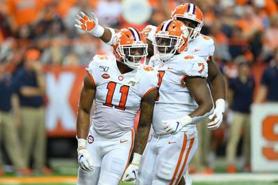 the best attitude 696d0 f4a24 Lawrence, No. 1 Clemson blast Syracuse | Sports | news-daily.com