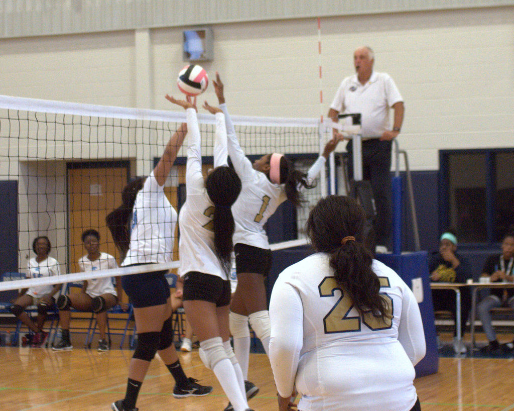 Drew finishes off perfect season to win county JV volleyball championship