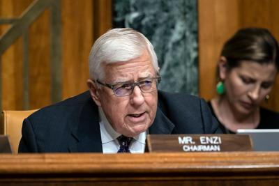 Former US Sen. Mike Enzi dies at 77 after bicycle accident