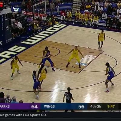 Glory Johnson Highlights from the Dream