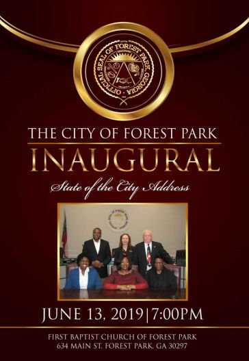 "Forest Park ""State of the City"" address Thursday at 7 p.m."