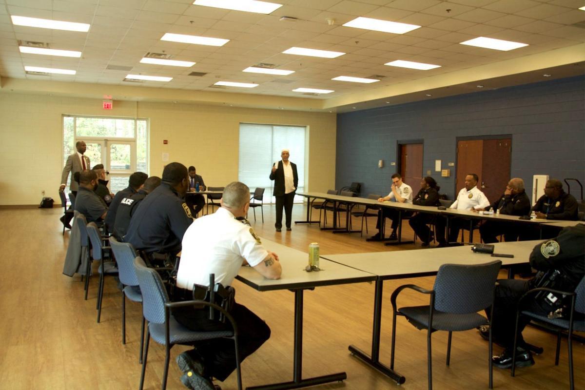 Clayton cops take interfaith tour