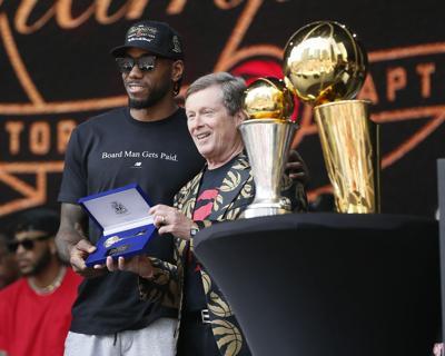NBA: Toronto Raptors-Championship Parade