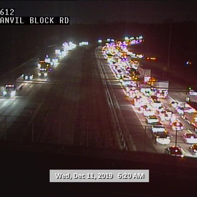 GDOT: Avoid I-675 South until after 7 a.m.