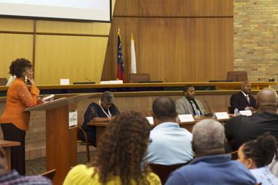 County election official Pat Pullar scolds candidates who skipped Riverdale forum