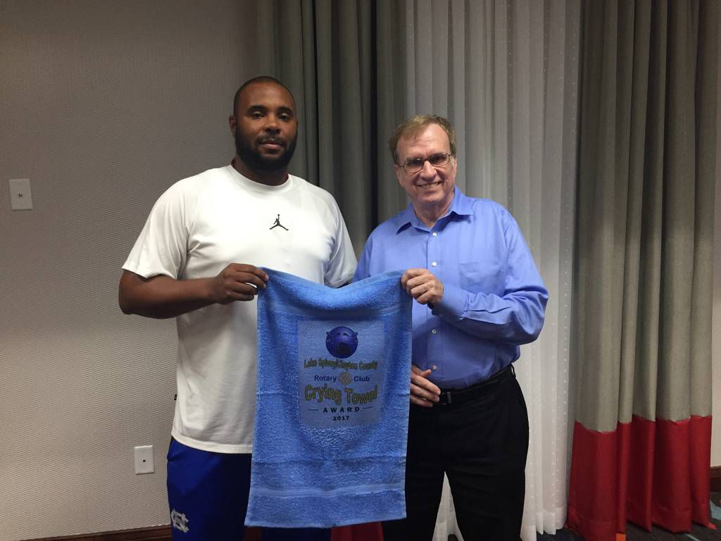 Rotary Club of Lake Spivey-Clayton County hosts 'Crying Towel' Luncheon