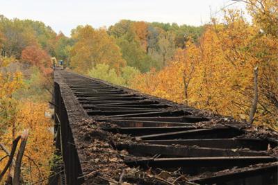 GO Kickapoo Rail Trail bridge