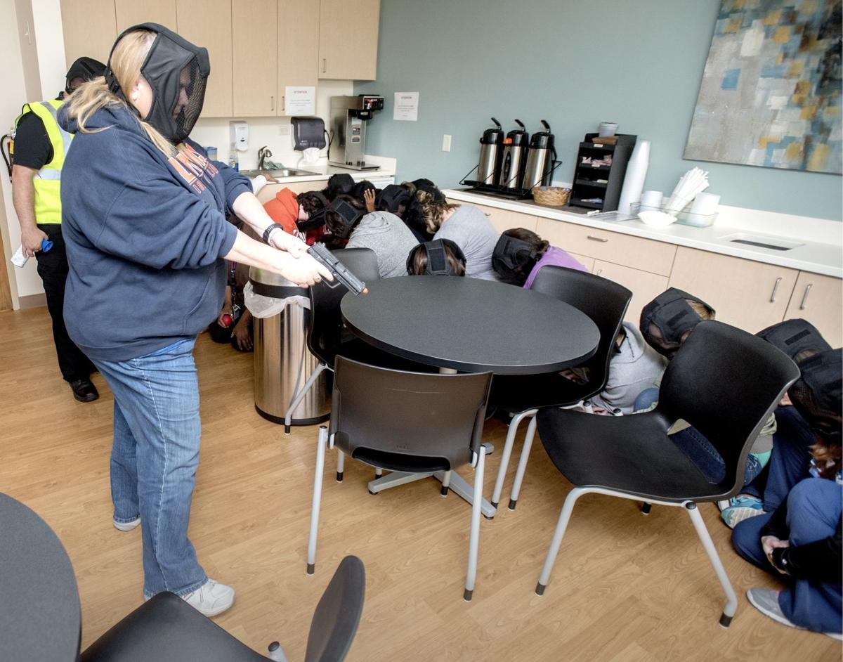 Area health care workers ramp up training they hope they never have to use