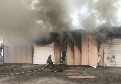 Costly storage-unit fire: 'We lost a lot of Paxton history'