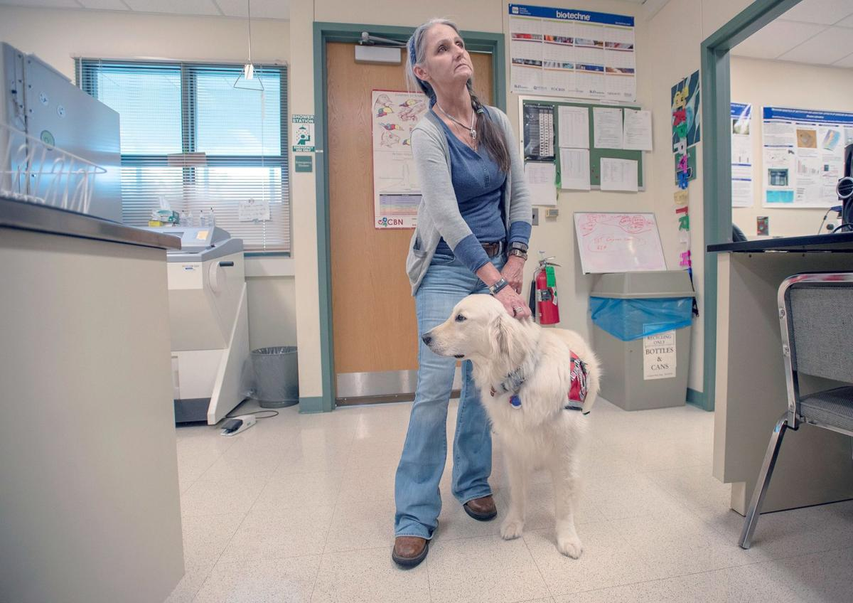 UI student making dogged effort to get service animal into labs