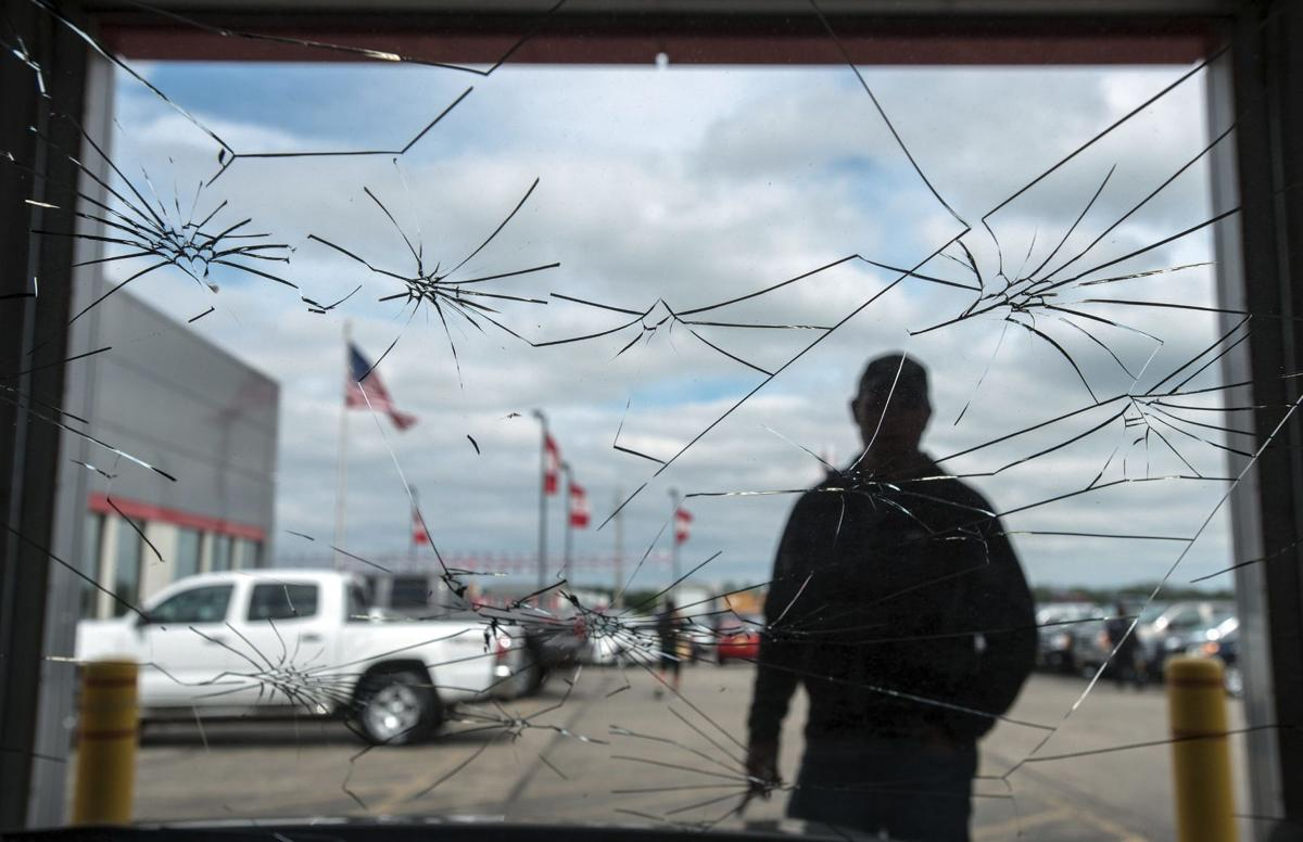 Damages from Vermilion County hailstorm estimated 'in the millions'